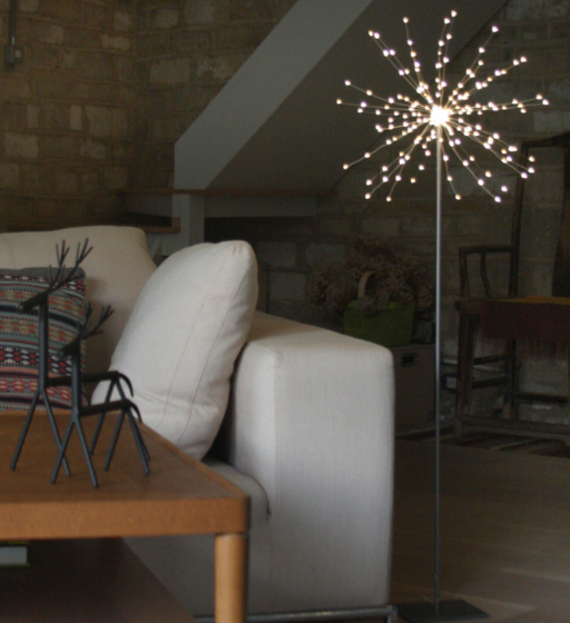Floor Standing Starburst Light