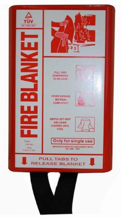 Fire Blanket in PVC Box