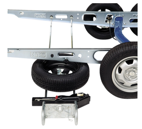 AL-KO Alko Spare Wheel Carrier - Pre-assembled 1265-1515mm