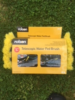 Telescopic Water Fed Brush 2m