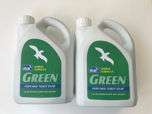 Elsan Green Herbal Formula - 2x2 litre pack
