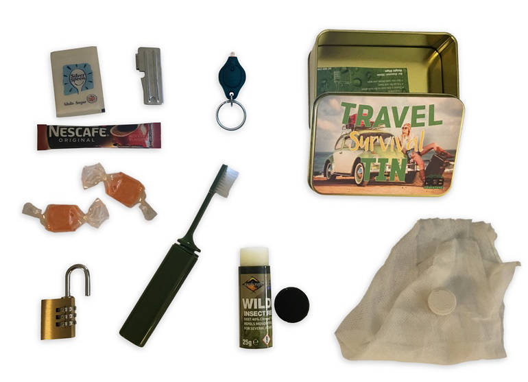 Travel Survival Tin