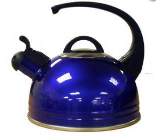 High Gloss Caravan Kettle - Blue