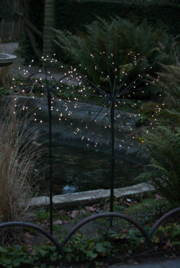 Solar Dandelion Lights Outdoor Stake Lights Only 163 23