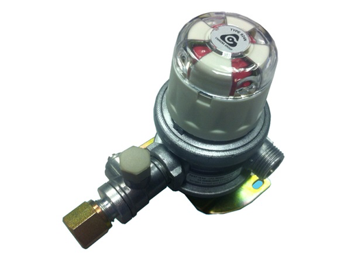 Automatic Changeover Gas Regulator - 8mm