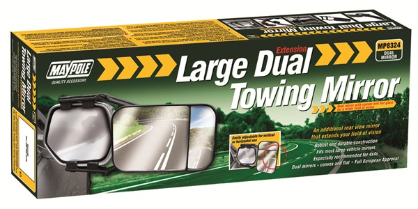 Towing Extension Mirror - Dual Glass - Large