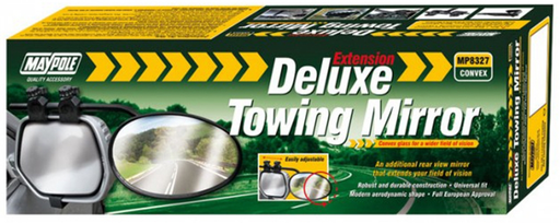 Towing Extension Mirror - Deluxe Convex Glass