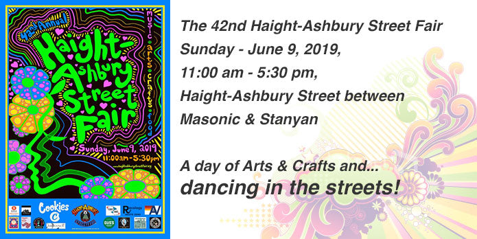 HSAC Print Demos at the Haight-Ashbury Street Fair