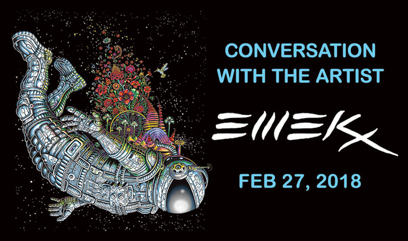 Conversation with the Artist: EMEK Feb 27, 2018