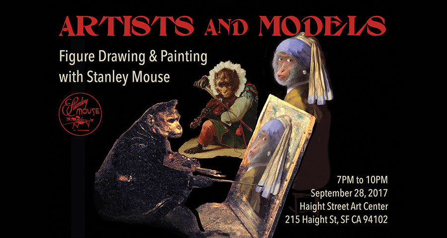 Figure Drawing and Painting with Stanley Mouse