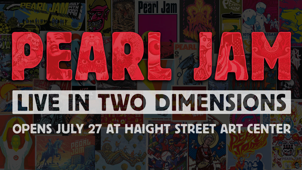 Opening Reception for PEARL JAM: LIVE IN TWO DIMENSIONS