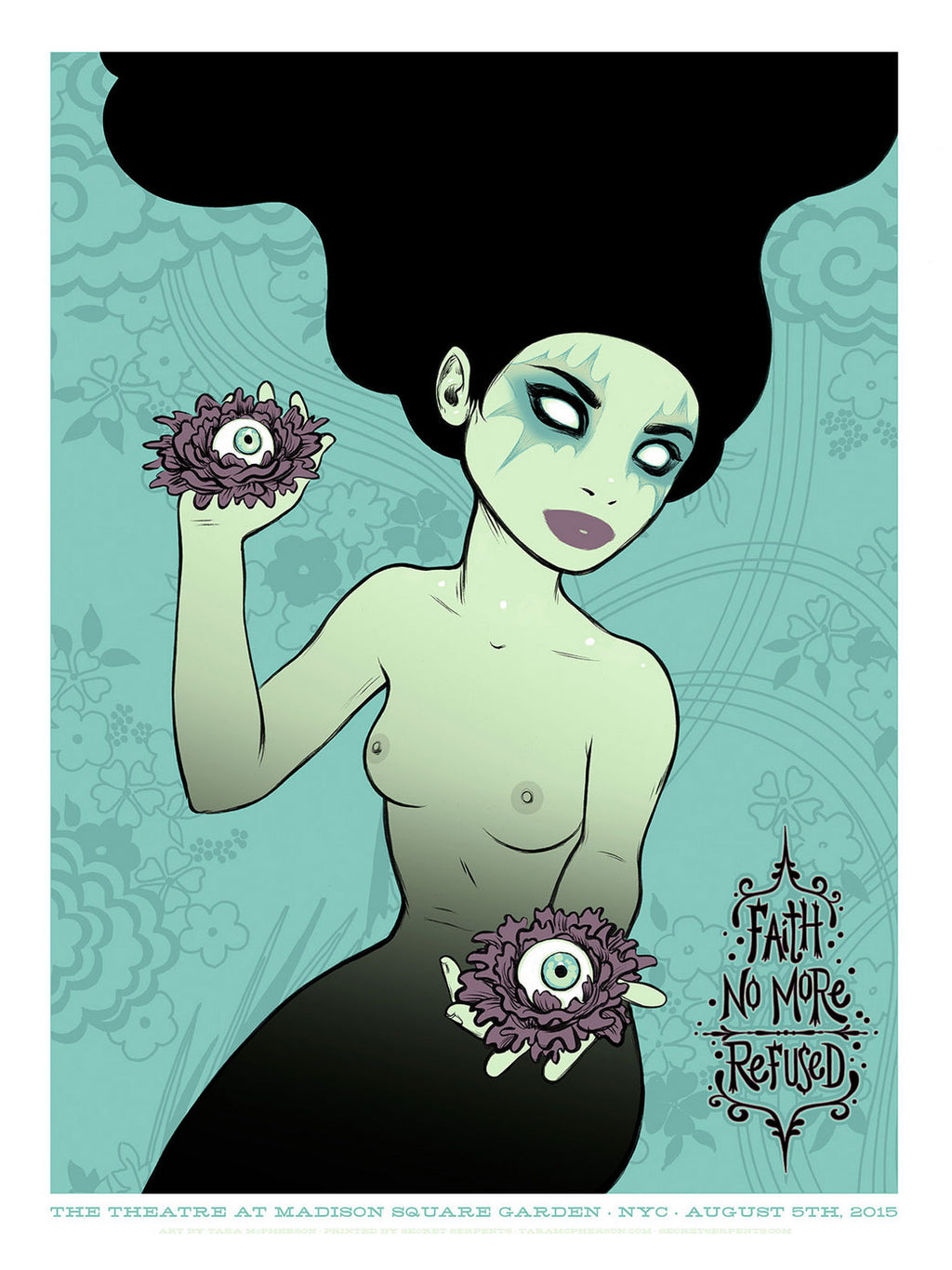 Tara McPherson 2015-08-05 Faith No More Blue