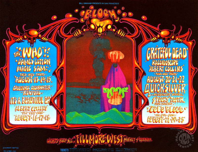 1968-08-13 The Who Postcard