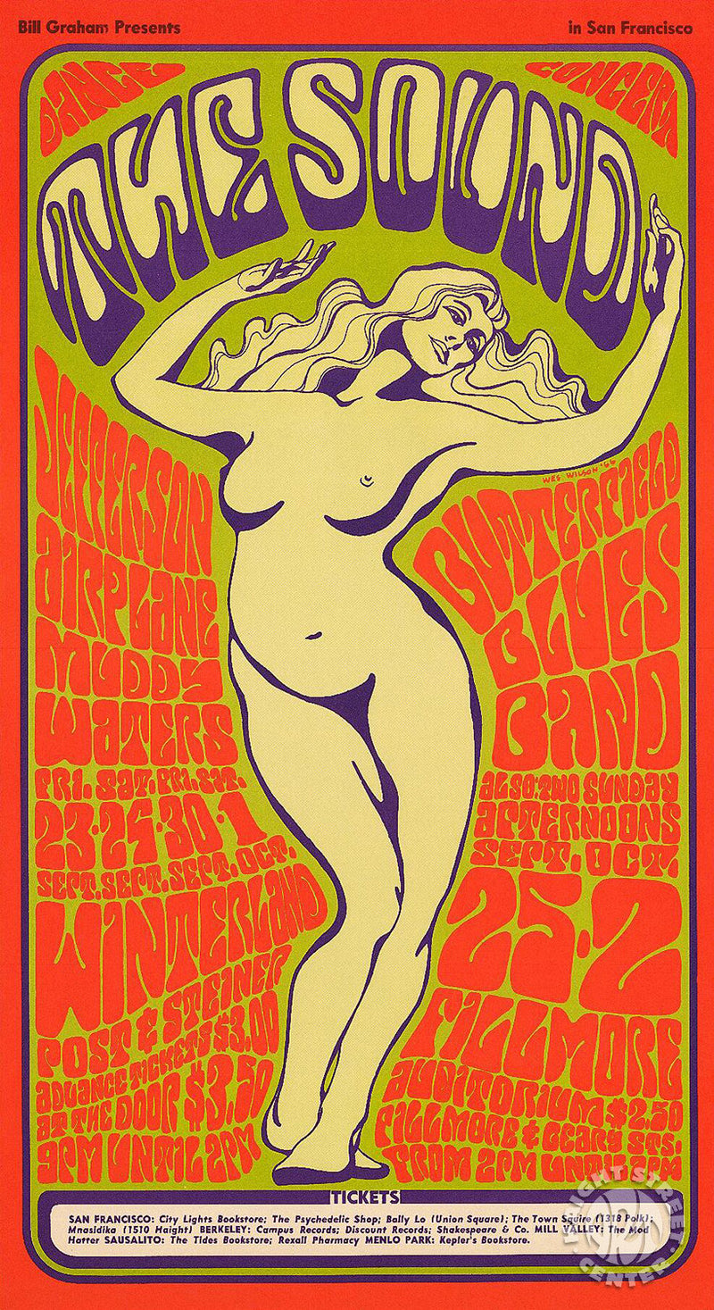 1966-09-23 Jefferson Airplane Handbill