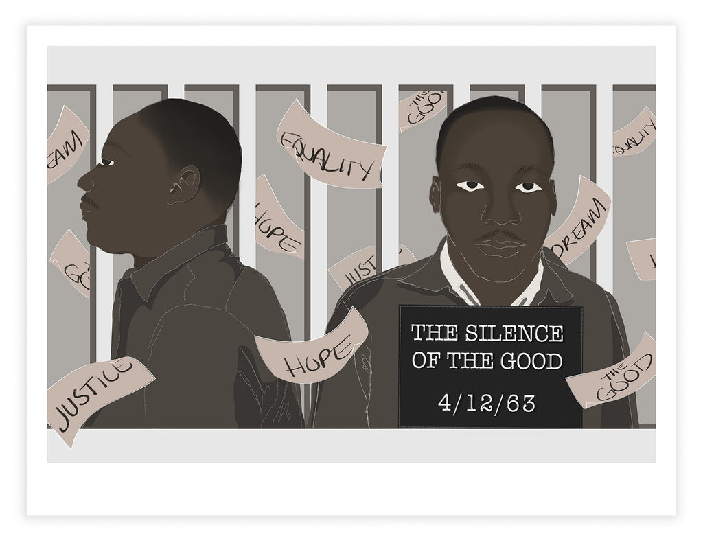 The Silence of the Good Print by Domo