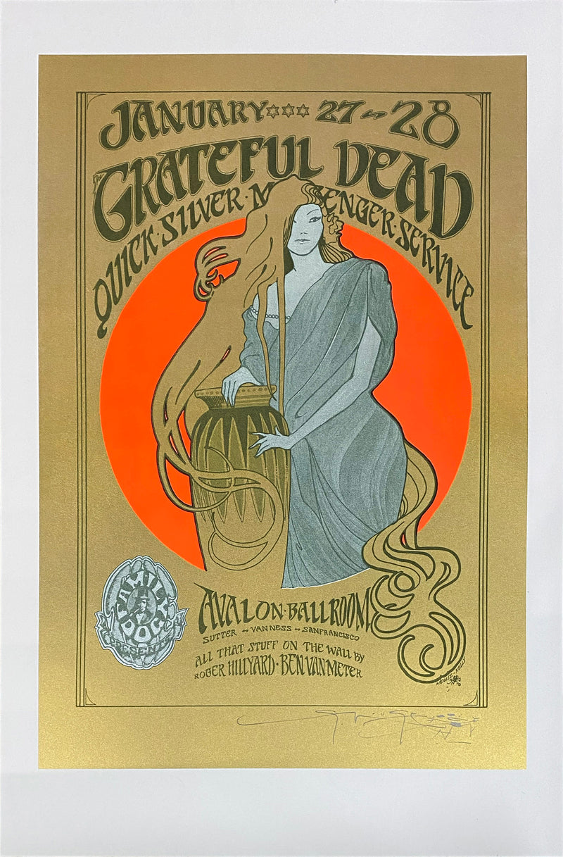 FD45 Grateful Dead Screenprint