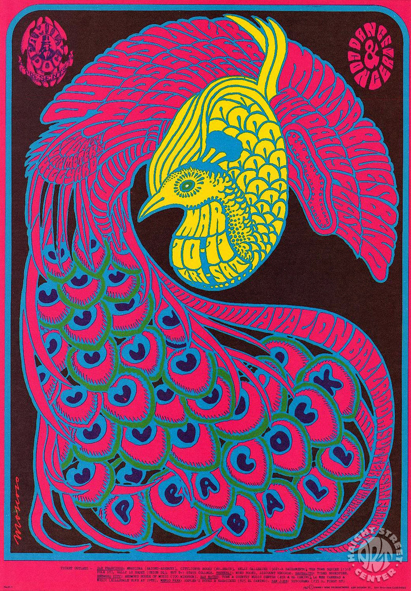 1967-03-10 Quicksilver Messenger Service Postcard