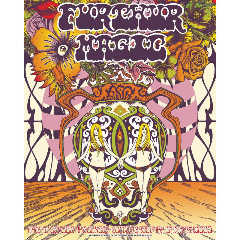 Furthur Magic Digital Print by Alan Forbes & Caitlin Mattisson