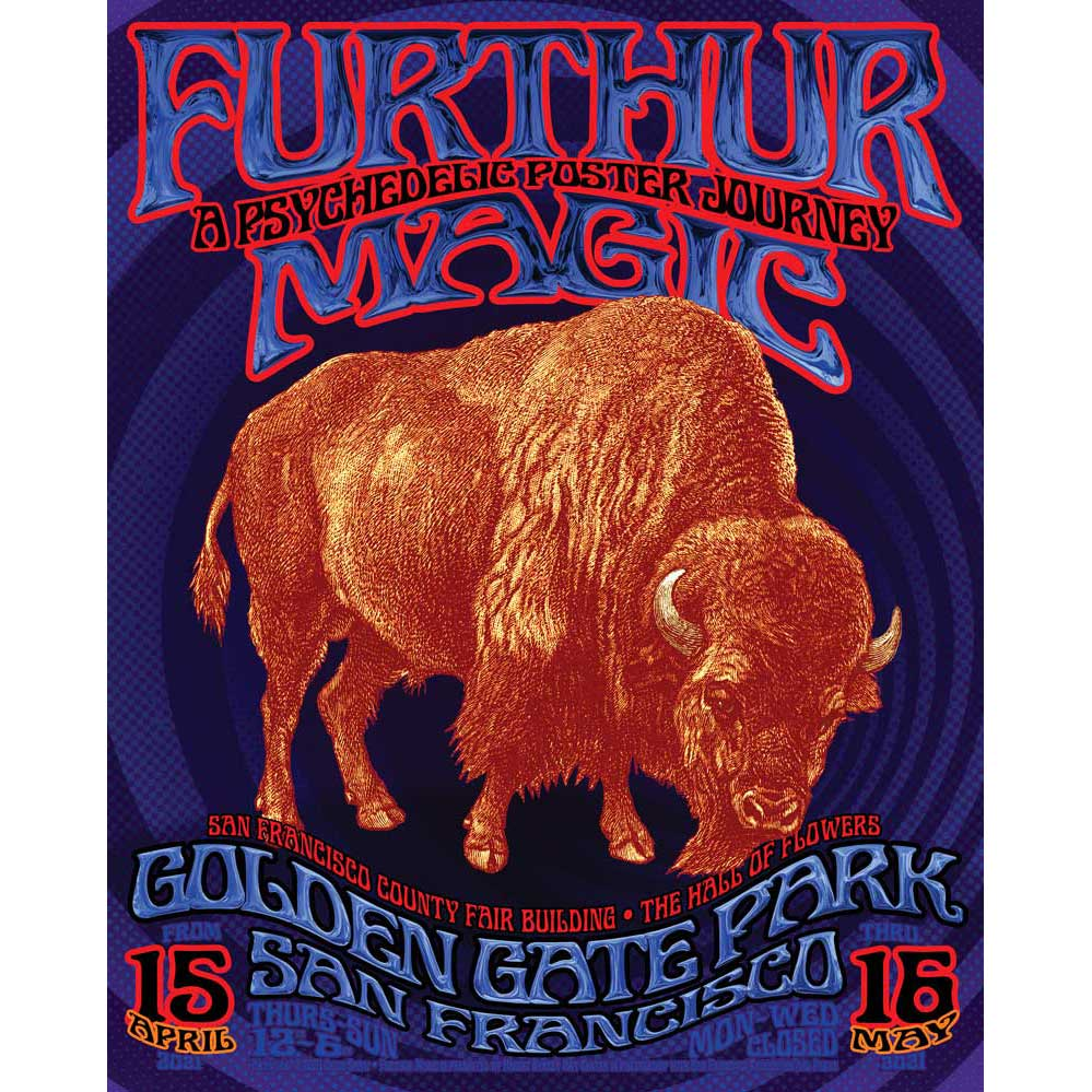 Furthur Magic Digital Print by Chris Shaw