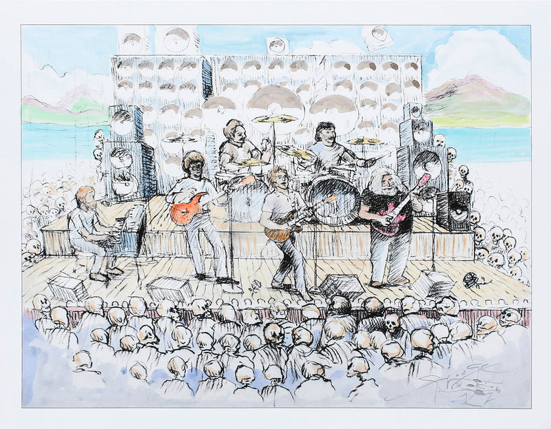 Stanley Mouse 2020 Grateful Dead Watercolor