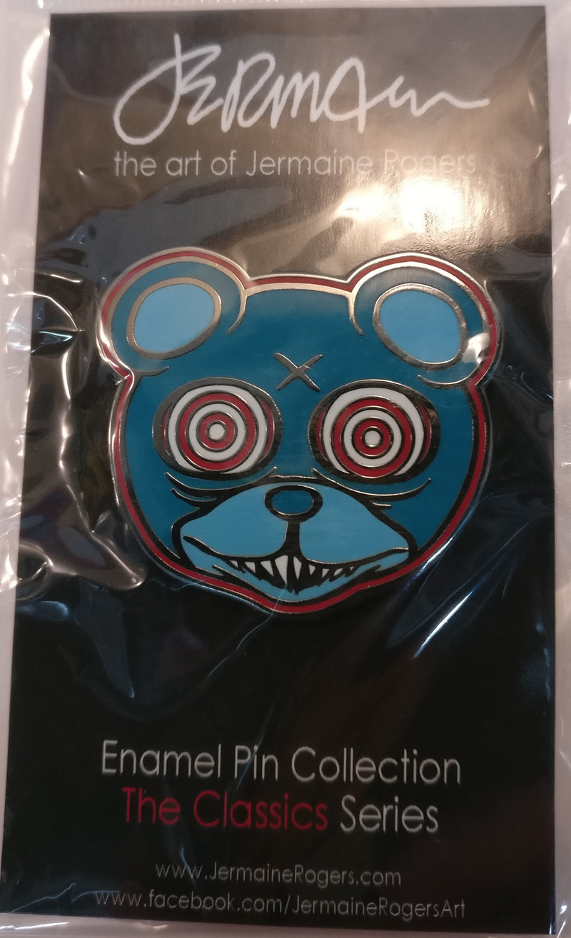 Dero Trance Enamel Pin (Moonlight Blue edition)