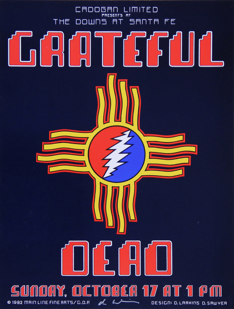 1982-10-17 Grateful Dead at Santa Fe Downs