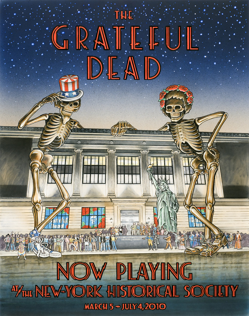 2010-03-05 Grateful Dead at New York Historical Society