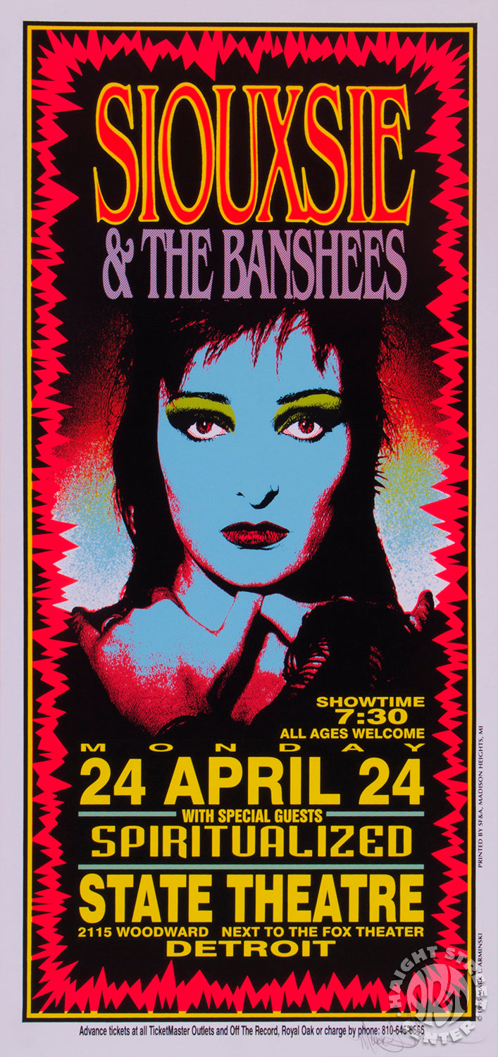 1995-04-24 Siouxsie and The Banshees