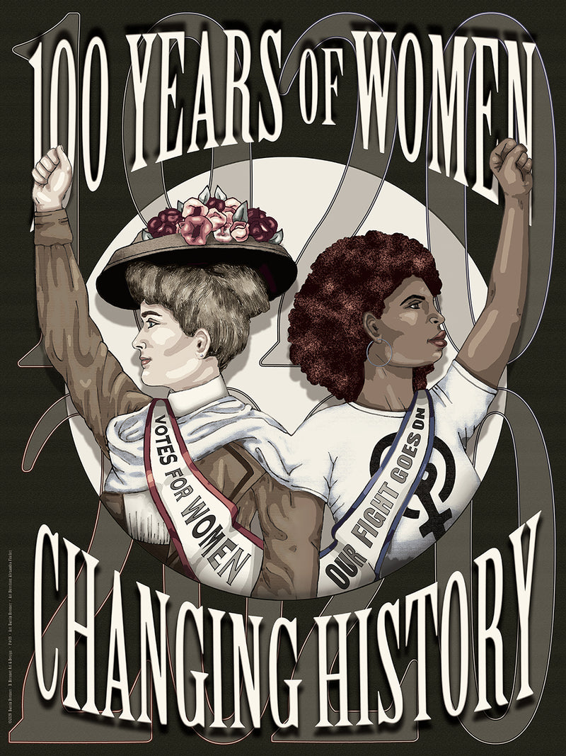 19th Amendment Poster by Darrin Brenner