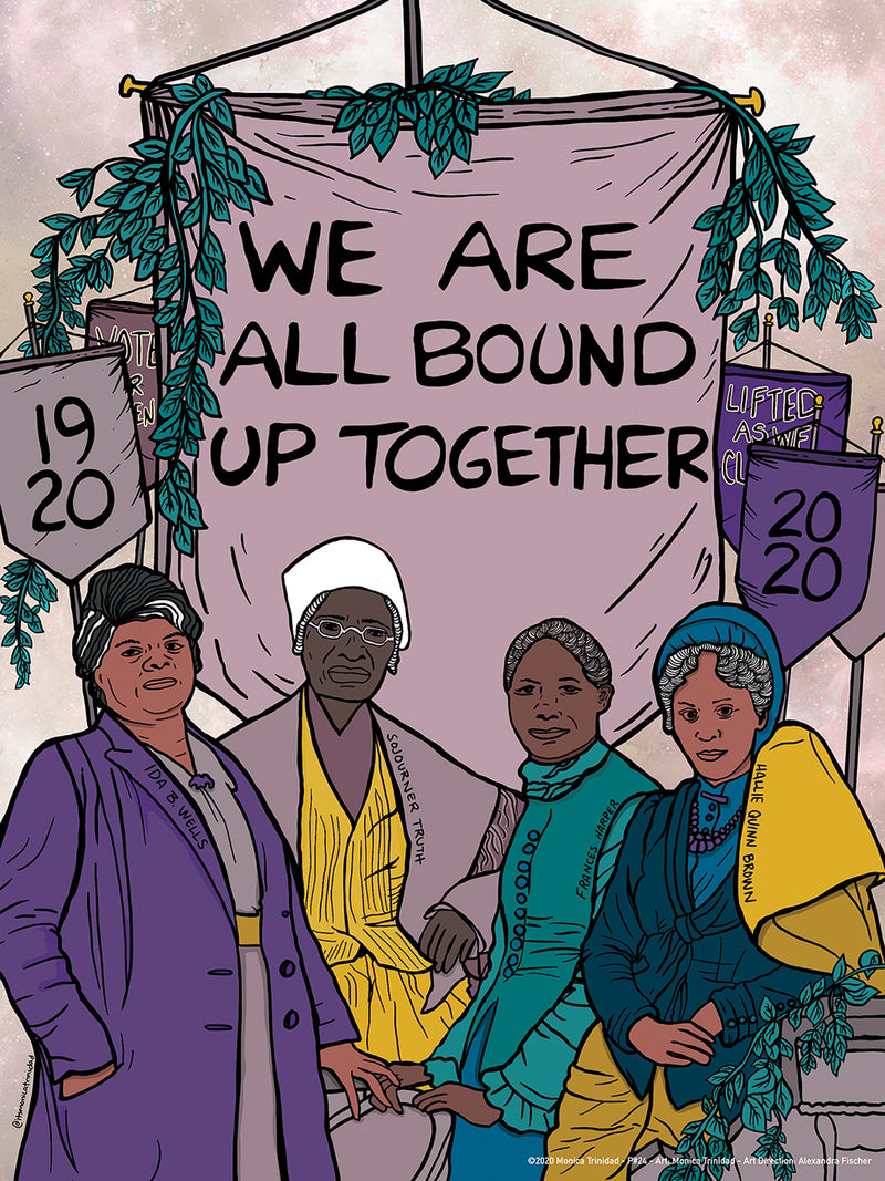 19th Amendment Poster by Monica Trinidad