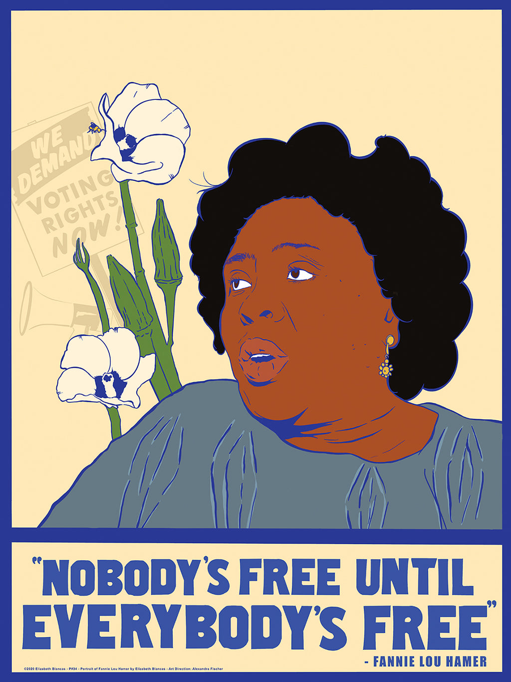 19th Amendment Poster by Elizabeth Blancas