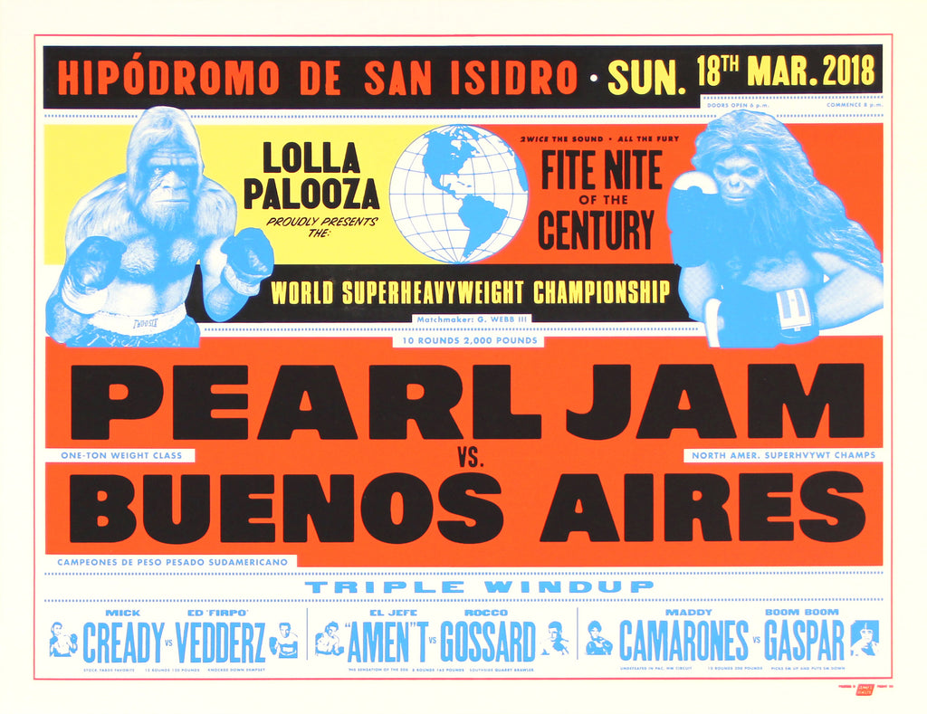 2018-03-18 Pearl Jam Buenos Aires