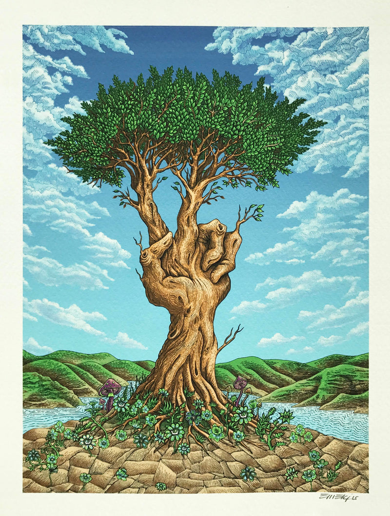 "Emek ""Peace Tree"" Print"
