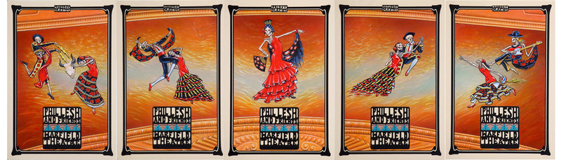 2008-05-13 Phil Lesh & Friends 5 Poster Set