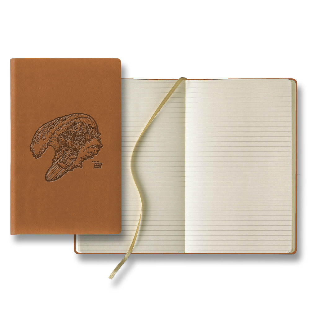 Ames Bros Surf Squatch Notebook