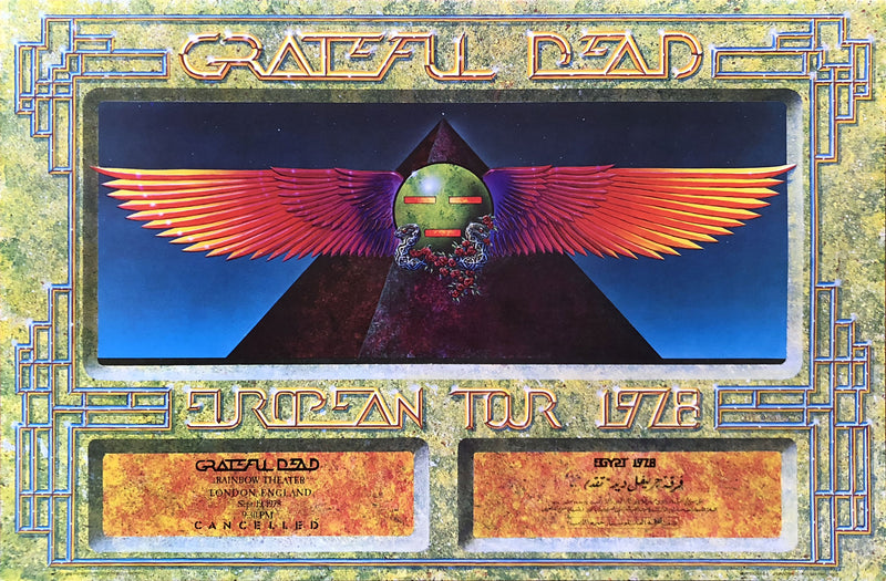 1978 Grateful Dead Egypt and Cancelled European Tour