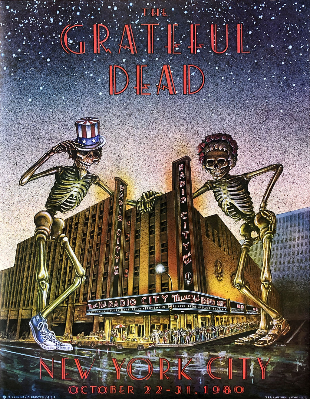 1980-10-22 Grateful Dead Radio City