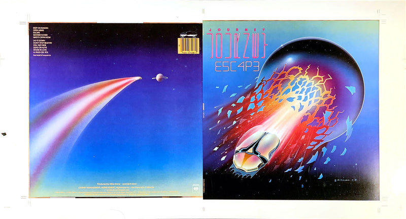 1981 Journey Escape Album Cover