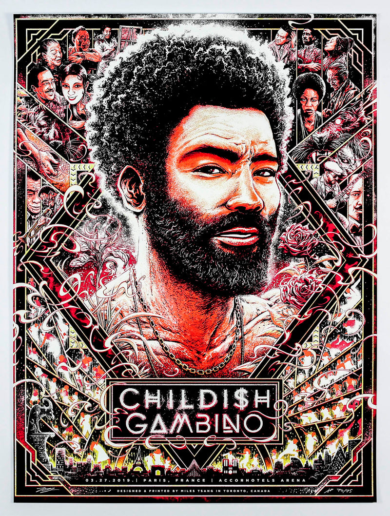 Miles Tsang 2019-03-27 Childish Gambino Red