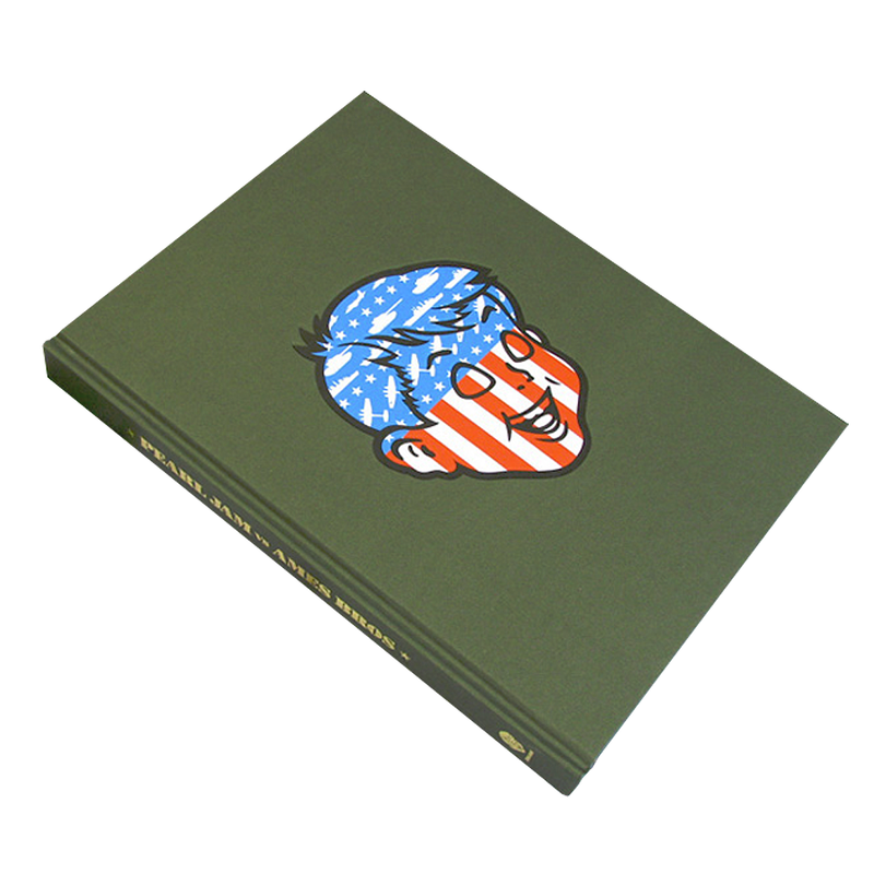 Pearl Jam vs Ames Bros Book Regular Edition (Green)