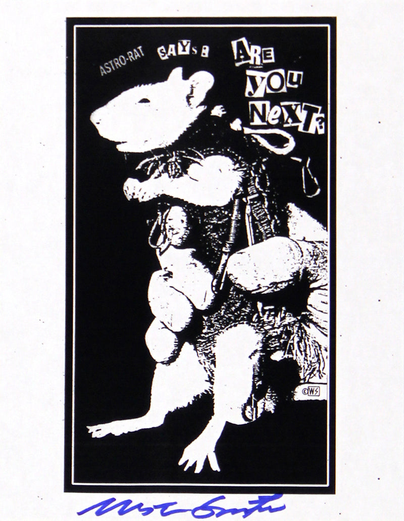 Astro Rat Xerox Flyer