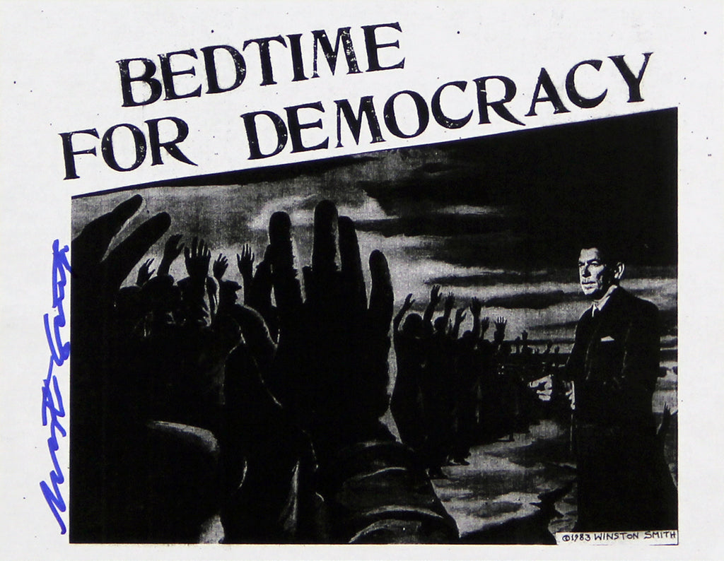 Bedtime for Democracy Xerox Flyer