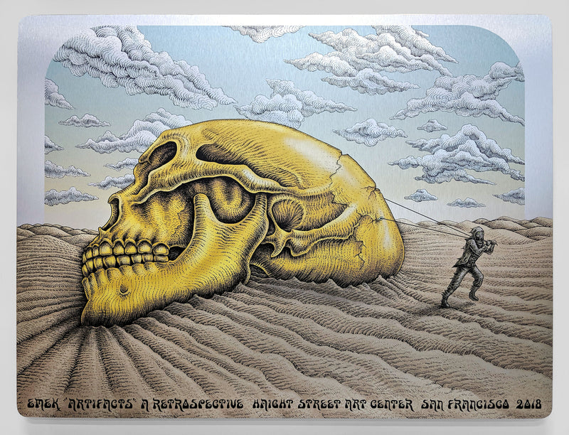 Emek Artifacts Poster (Aluminum Edition)