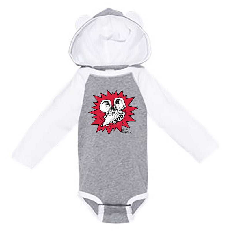 Crazy Mouse Onesie