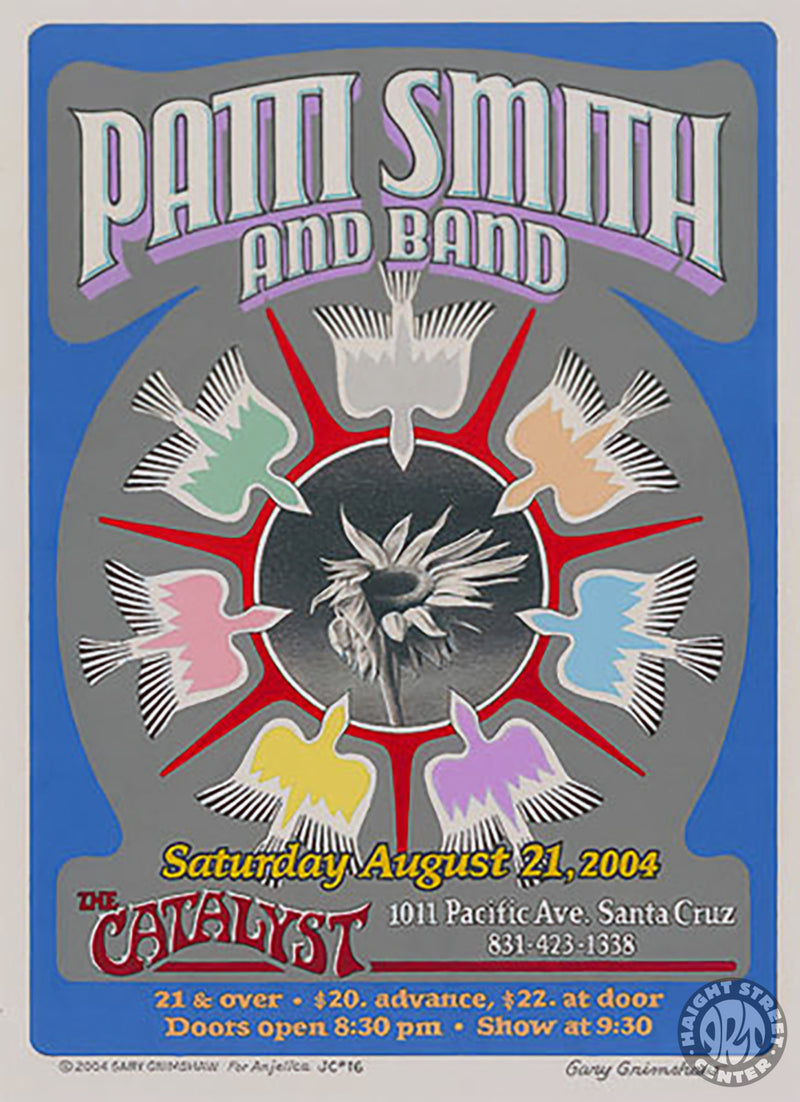 2004-08-21 Patti Smith and Band