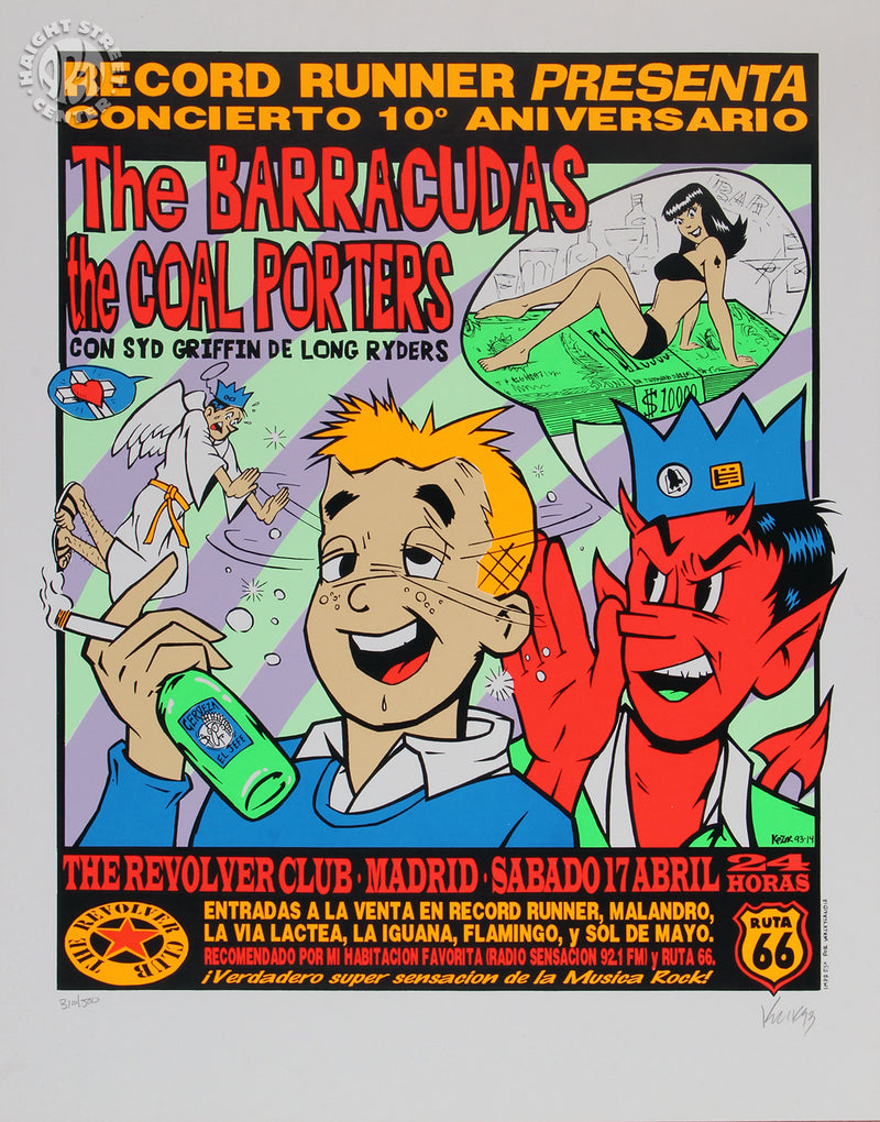 1993-04-17 The Barracudas