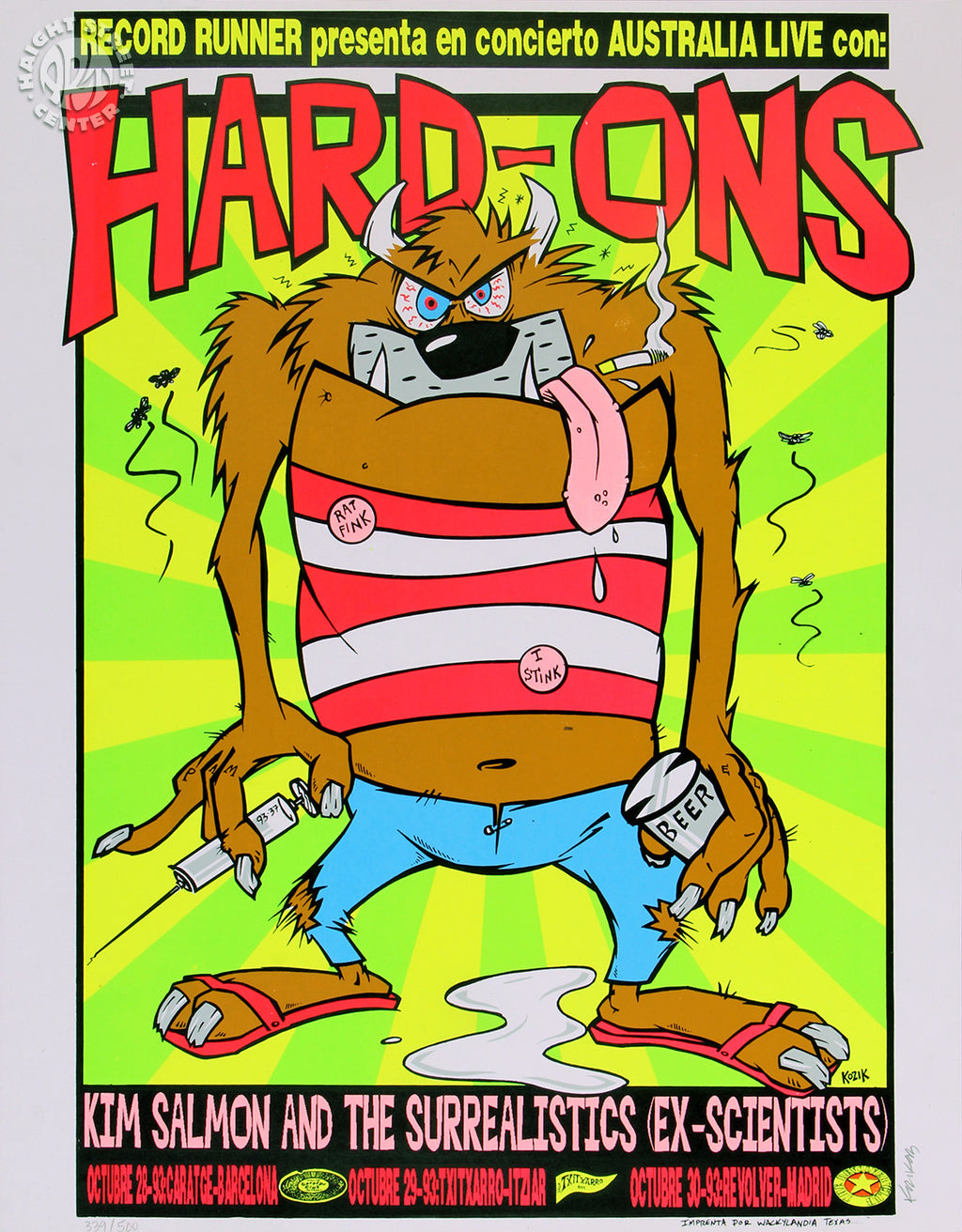 1993-10-28 The Hard-Ons