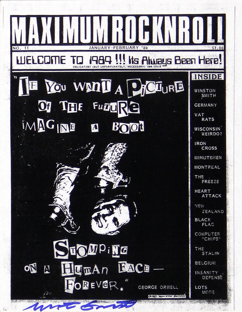 Maximum RocknRoll Xerox Flyer