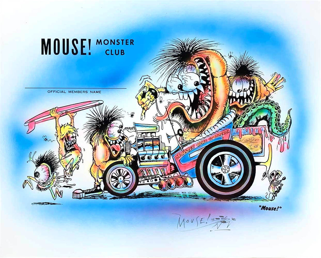 Stanley Mouse Monster Club Airbrush