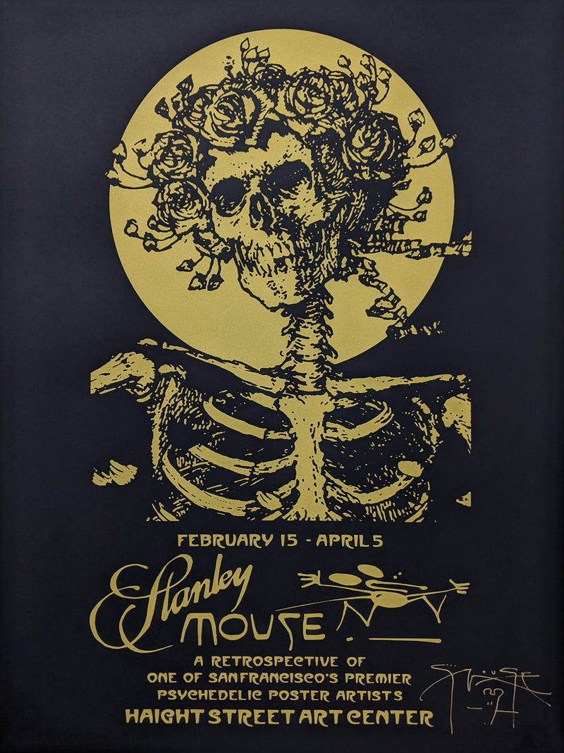 Mouse Exhibition Poster 2020 Black